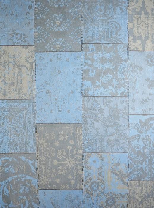 Karpet VC Patchwork Turquoise 160 x 240 cm