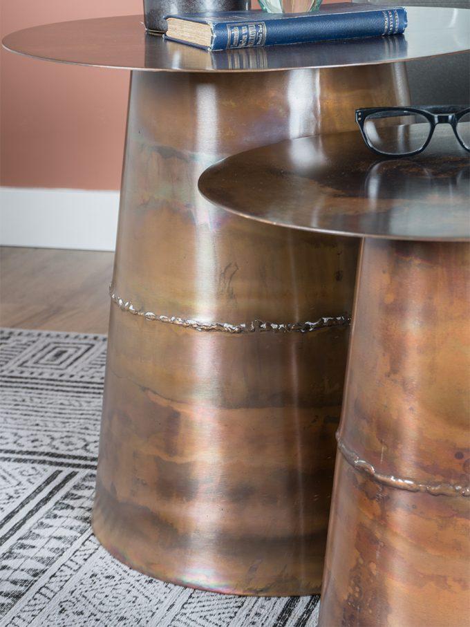 Salontafel Comterra - Set van 2 - Copper