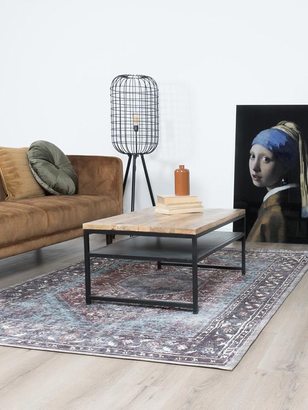 Vloerkleed Madel Rood/Blauw 160 x 230 cm