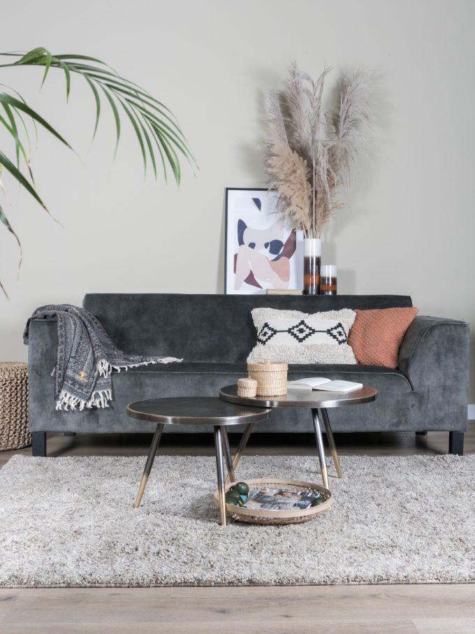 Vloerkleed Zumba Beige 160 x 230 cm