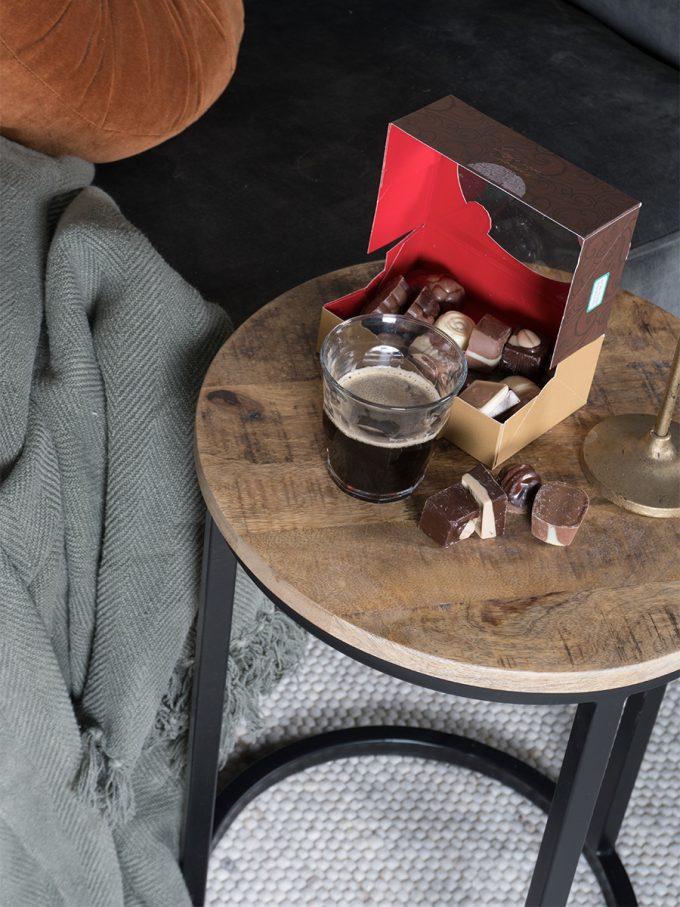 Laptoptafel Roos Rond