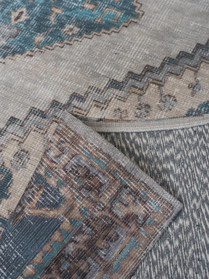 Vloerkleed Karaca Blue 03 - 200 x 290 cm